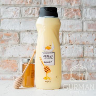 Гель для душа Deliplus с медом и протеинами 750 мл