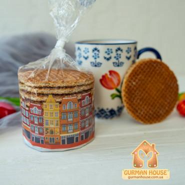 Голландские карамельные вафли Stroopwafels 315 г