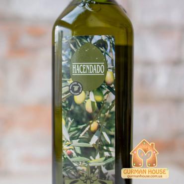 Оливковое масло первого холодного отжима Hacendado 750 мл