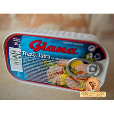 Печень трески Giana